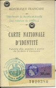Baccarat-Carte Nationale D'Identité De Suzanne Kuhn Née Guidt Le 27 Novembre 1924-Fait Le 31 Mai 1979 (Voir Les Scans) - Autres Collections