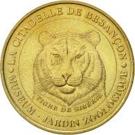 France, Jeton, Jeton Touristique, Besançon - Zoo  - Le Tigre, 2000,  MDP - France