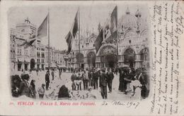 2980A       VENISE   1907  ECRITE  TIMBRE VERSO - Other