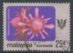 Sarawak. 1979 Flowers. 25c Used. SG 239 - Malaysia (1964-...)