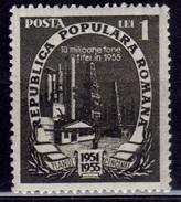 Romania, 1951, Oil Field Exploration, Sc#799, MNH - 1948-.... Republics