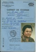 Baccarat-Carnet De Change De Madame Guidt Et Kuhn Suzanne-27;Rue Des Cristalleries (Voir Les Scans) - Autres Collections