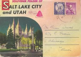 CPA-1950-USA-DEPLIANTE De 16 Vues R°/V°-SALT LAKE CITY And UTHA-TBE - Salt Lake City