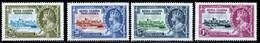 Kenya Uganda Tanganyika (KUT) 1935 Silver Jubilee MNH/MH Set SG 124/127 Cat £8.25 - Kenya, Uganda & Tanganyika