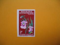 Timbre Non Dentelé  N° 69  Fleurs Diverses  1967 - Central African Republic