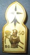 50° Bataillon Du Génie, émail, - Esercito