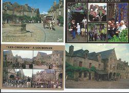 CPM   Lot 28 LOCRONAN 12 Cartes TBE Toutes Scannées - Locronan