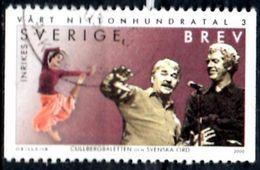 SWEDEN 2000 BREV Used Oblitéré - CULLBERG Ballet Dance Danse Theater Teatro Tanzen Ballett - Dans