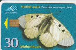 Estonia - Butterfly - Clouded Apollo - Estonia