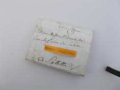 LETTRE AUTOGRAPHE XVIIIe 1794 AN 3 De La Republique Famille Dulau Celettes Mansle Charente - Marcophilie (Lettres)