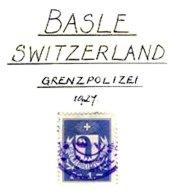 SWITZERLAND, Basel, Used, F/VF - Fiscale Zegels