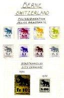 SWITZERLAND, Berne, */o M/U, F/VF - Revenue Stamps