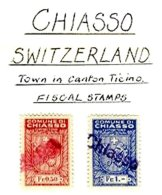 SWITZERLAND, Chiasso, Used, F/VF - Fiscaux