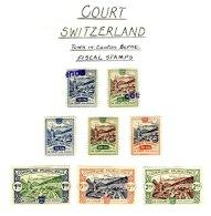 SWITZERLAND, Court, */o M/U, F/VF - Fiscaux