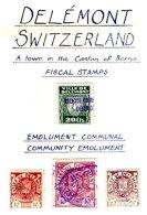 SWITZERLAND, Delémont, Used, F/VF - Revenue Stamps