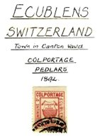 SWITZERLAND, Ecublens, Used, F/VF - Fiscaux