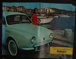 Pu. 72. Catalogue Publictaire De La Voiture Dauphine De  Renault - Publicités