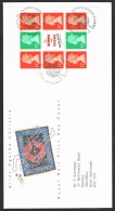 RB 1173 -  GB 1991 Prestige Pane Stamps FDC First Day Cover - Agatha Christie - FDC