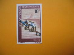 Timbre Non Dentelé  N° 116  Sports Divers  1969 - Central African Republic
