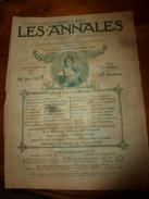 1908 Les ANNALES P&L:Hippisme;Expo Peinture-sculpture;Port-au-Prince;LES CHEVEUX (chanson);Courses AUTOMOBILES;etc - Newspapers