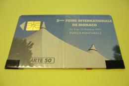 Télécarte  50 U  FOIRE INTERNATIONALE    NEUVE SOUS BLISTER - Monaco