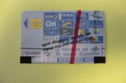 Télécarte  50 U TV CABLE  NEUVE SOUS BLISTER - Monaco