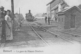 17/11 Ransart Charleroi Hainaut Gare Station Copie - Reproductions