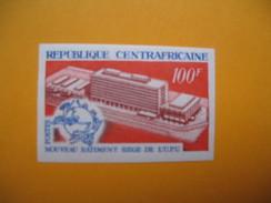 Timbre Non Dentelé  N° 127  Inauguration De La SICPAD  1970 - Central African Republic