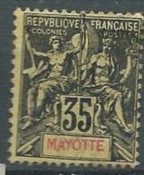 Mayotte     - Yvert N° 18 Oblitéré   - Bce 10313 - Mayote (1892-2011)