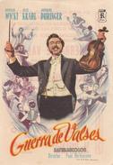 GUERRA DE VALSES - BERNARD WICKI - HILDE KRAHL - PAUL VERHOEVEN - Affiches & Posters