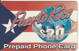 PUERTO RICO - Puerto Rico, Access Telecom Prepaid Card $20, Used - Puerto Rico
