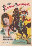 EL VIZCONDE DE BRAGELONNE - DAWN ADAMS - GEORGES MARCHAL - E. CERCHIO - Afiches & Pósters