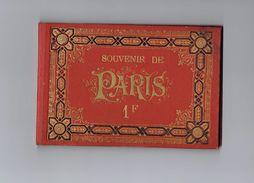 Souvenir De Paris - 14 Carts - E. Fiévée - PHOTOGRAPHIES ESTAMPES - Papeterie - Géographie