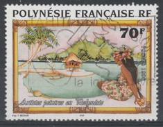 French Polynesia, T. Becaud, Painter, 1996, VFU - French Polynesia