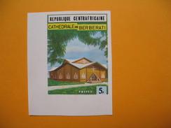 Timbre Non Dentelé  N° 149  Cathédrale De Berberati  1971 - Central African Republic
