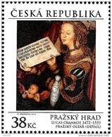 Czech Republic - 2016 - Art Of Prague Castle - Lucas Cranach - Alterpiece With St. Barbara - Mint Stamp - Tchéquie