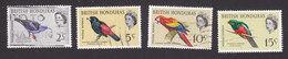 British Honduras, Scott #168, 171-173, Used, Birds, Issued 1962 - British Honduras (...-1970)