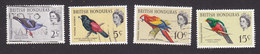 British Honduras, Scott #168, 171-173, Used, Birds, Issued 1962 - Honduras Britannique (...-1970)