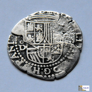 1 Real - Lima - Felipe II - 1556/98 - Perú