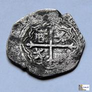 México - 1 Real - Felipe II - 1556/98 - Messico