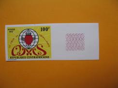 Timbre Non Dentelé  N° 165  Année Mondiale Du Coeur  1972 - Central African Republic