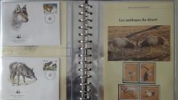 Belle Collection 3/4 Philatélique En étui Du WWF Dont Timbres **, Enveloppes 1er Jour, Cartes Maximums... Pas Commun !!! - Collections (with Albums)