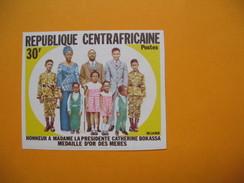 Timbre Non Dentelé  N° 168  Fête Des Mères  1972 - Central African Republic