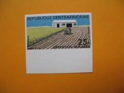 Timbre Non Dentelé  N° 170  Opération Bokassa   1972 - Central African Republic