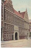 POSTAL DE HOLANDA DE GRONINGEN DEL AÑO 1906 (GERECHTSHOF) - Groningen