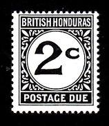 British Honduras, Scott #J4, Mint Hinged, Postage Due, Issued 1972 - Honduras Britannique (...-1970)