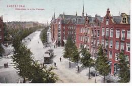 POSTAL DE HOLANDA DE AMSTERDAM DEL AÑO 1912 BILDERDIJKSTR. - Amsterdam