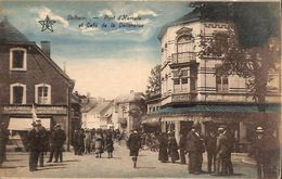 Dolhain - Pont D'Hercule Et Café De La Délivrance (top Animation, Boucherie, 1929) - Limbourg