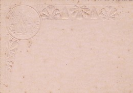 GOFRADO/GAUFRE, TARJETAS/CARD. CIRCA 1880S - BLEUP - Andere