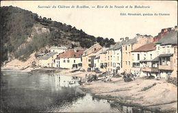 Château De Bouillon - Rive De La Semois Et La Madadrerie (Edit. Stroobant, Animée, Colorisée, Marco Marcovici) - Bouillon